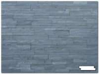 Split Face Charcoal Slate Tiles 1/2 sq m (14 tiles)