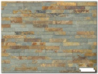 Split Face Rusty Slate Tiles 1/2 sq m (14 tiles)