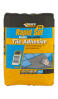 Rapid Set Flexible Tile Adhesive 20Kg  sack (4/5 Sq mtr) (heatproof)