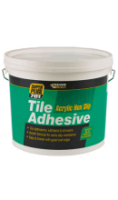 Non-slip Tile Adhesive 10 Litre Tub (5 to 7 Sq mtr)